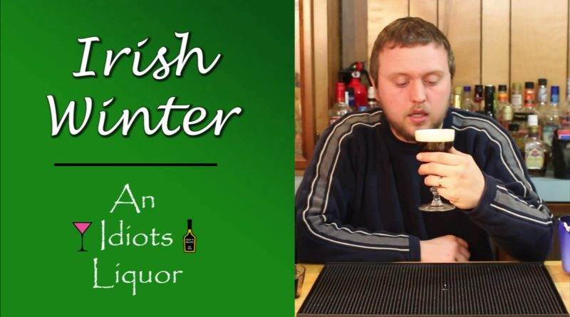 Irish Winter – A Hot Coffee w/ Jameson Whiskey and Kahlua Drink Recipe