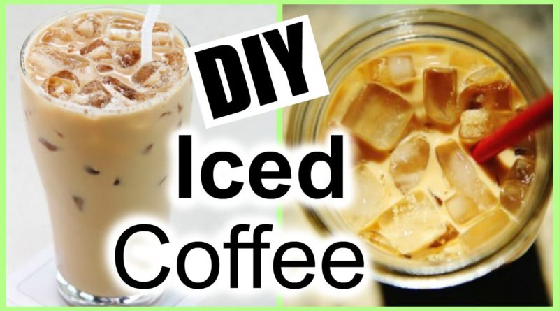 How to Make ICED COFFEE at Home │ The EASIEST Iced Coffee Recipe Ever!